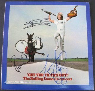 "The Rolling Stones Autographed Album ""Get Your Ya Ya's Out"" Entertainment Collectibles"
