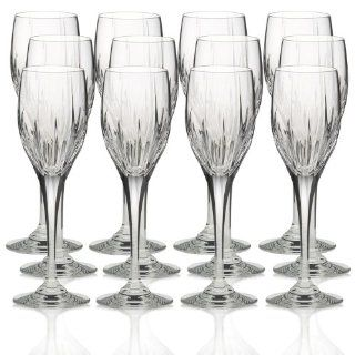 Mikasa Arctic Lights Crystal Wine Glasses, Set of 12   Glass Kitchen & Dining
