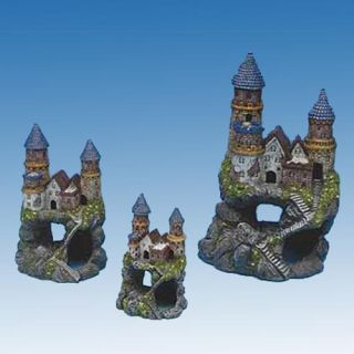 Enchanted Castles Aquarium Decoration   Aquarium Plants & Decorations