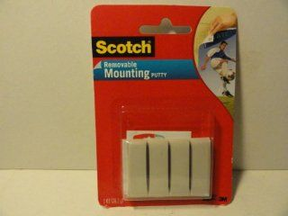 Scotch Permanent Mounting Putty  Mounting Tapes