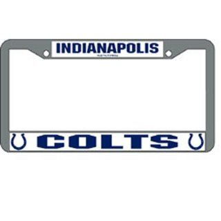 BSS   Indianapolis Colts NFL Chrome License Plate Frame