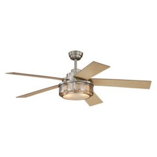 AireRyder F0002 Chesapeake 52 in. Indoor Ceiling Fan   Satin Nickel   Ceiling Fans