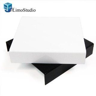 LimoStudio Table Top Black & White Acrylic Reflective Display Table kit for Product Photography, AGG838