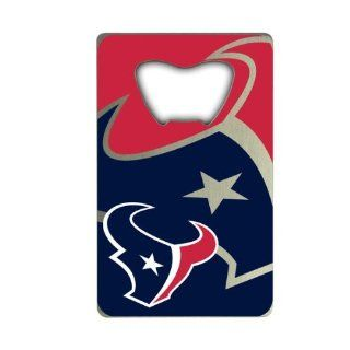 NFL Houston Texans Credit Card Style Bottle Opener Sports & Outdoors