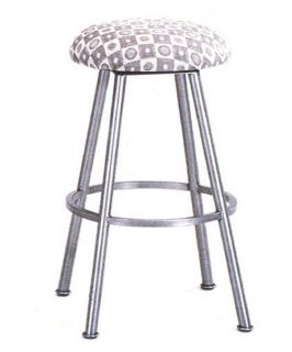 Tempo Winston 26 in. Backless Swivel Counter Stool   Bar Stools
