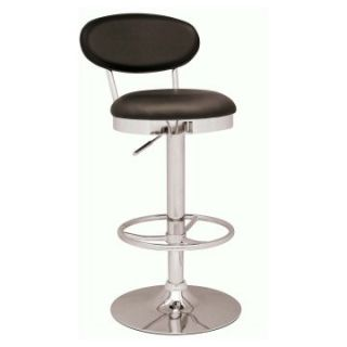Chintaly Jace Pneumatic Gas Lift Adjustable Height Swivel Bar Stool   Bar Stools