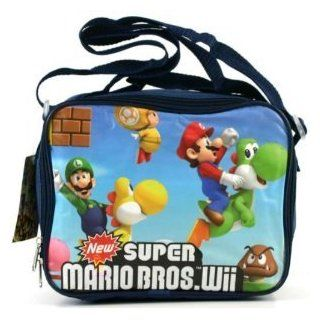 Super Mario Brothers Lunch Bag Yoshi Goomba insulated lunch box Clothing