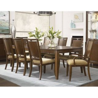 Skyline 9 pc. Rectangular Dining Table Set   Wood Back Chairs   Dining Table Sets