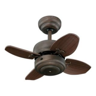 Monte Carlo 4MC20RB Mini 20 20 in. Indoor Ceiling Fan   Roman Bronze   Ceiling Fans