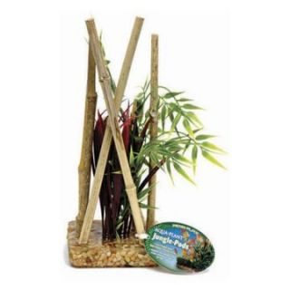 Aqua Plant Jungle Pod 10 Inch Bamboo Forest Aquarium Plant   Aquarium Plants & Decorations