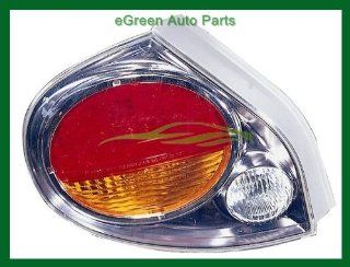 02 03 Maxima Tail Light Lamp Left Driver Chrome Trim Automotive