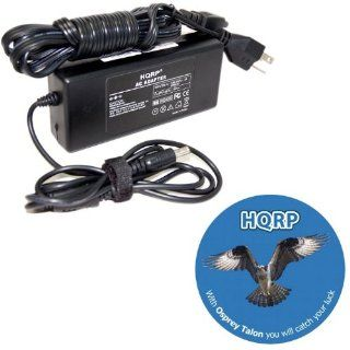HQRP AC Adapter / Power Supply for Toshiba Satellite L875D S7332 / S855 S5378 / L955 S5370 / L850 ST3N02 / C855D S5230 Toshiba Portege R935 ST3N02 / ASUS A53U ES21 Notebook / Laptop plus HQRP Coaster Electronics