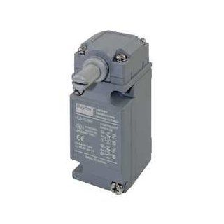 Dayton 12T886 Limit Switch, DPDT, CW and CCW, Rotary Head Motion Actuated Switches