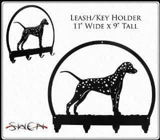 DALMATIAN Metal Key Chain Hanger   Leash Holder   Key Hooks