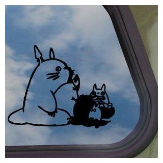 Totoro Black Decal Truck Bumper Window Vinyl Sticker Automotive