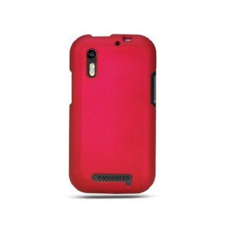 Hot Pink Hard Cover Case for Motorola Droid Bionic XT865 Cell Phones & Accessories