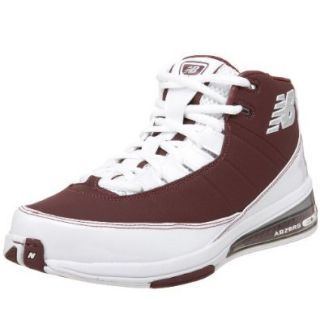New Balance Men's BB889E Basketball Shoe,Maroon,4 B Shoes
