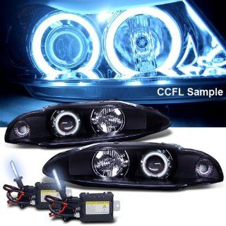 Eautolight Slim 8k HID + 97 99 Eclipse Ccfl Halo Projector Headlight Automotive