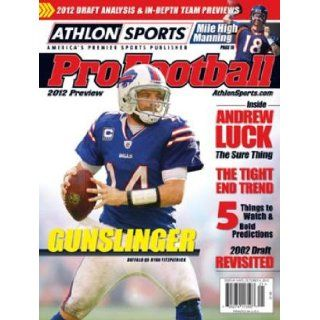 2012 Athlon Sports NFL Pro Football Magazine Preview  Buffalo Bills Cover Athlon Sports Books