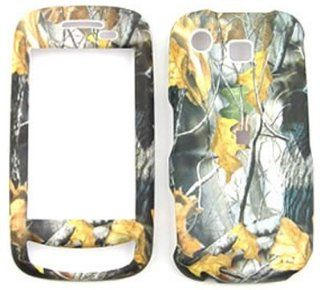 Samsung Impression A877��Camo / Camouflage Hunter Series w/ Dry Leaves� Hard Case/Cover/Faceplate/Snap On/Housing/Protector Cell Phones & Accessories