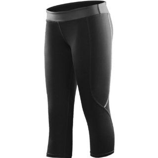 Virus ECo13 Stay Cool Compression Crop Pant Women's Undergarment Off Road/Dirt Bike Motorcycle Body Armor   Black / Medium Automotive