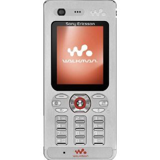 Sony Ericsson W880i Unlocked Cell Phone with 2 MP Camera, 3G, /Video Player, Memory Stick Pro Duo Slot  International Version with No Warranty (Steel Silver) Cell Phones & Accessories
