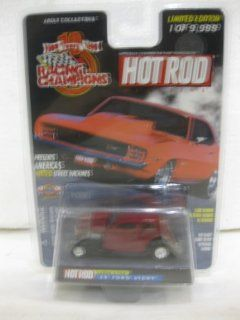 1933 Ford Vicky Issue #155 In Maroon Diecast 164 Scale Hot Rod Magazine By Racing Champions Toys & Games