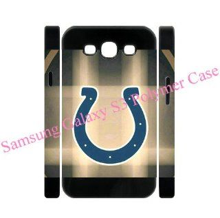 Samsung Galaxy S3 S III 3D Polymer shell with Colts style designed by Coolphonecases Cell Phones & Accessories