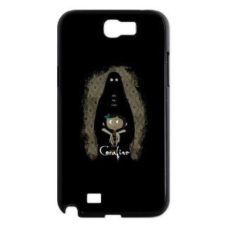 Casesspecial Coraline cool design Samsung Galaxy Note 2 N7100 Snap on case, Personalized Zombie Samsung Galaxy Note 2 Cases Cover Cell Phones & Accessories
