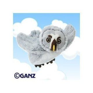 Webkinz Plush Stuffed Animal Grey Owl with Webkinz Bookmark Sealed Code Toys & Games