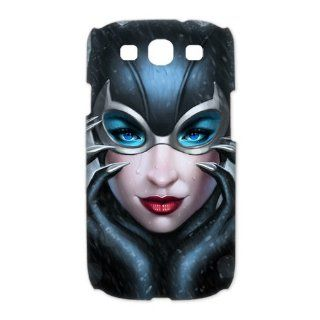 Custom Catwoman 3D Cover Case for Samsung Galaxy S3 III i9300 LSM 887 Cell Phones & Accessories