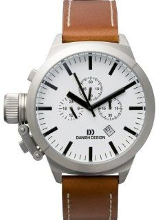 Danish Design IQ12Q888 Stainless Steel Case White Dial Chronograph Mens Watch Watches