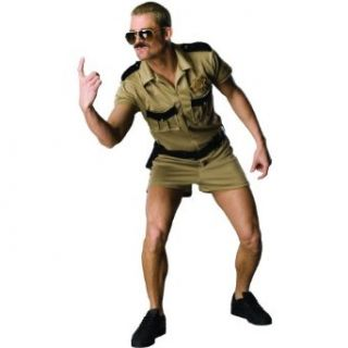 Rubies Reno 911 Cop Lt. Dangle Police Officer Halloween Costume  Adult Mens Clothing