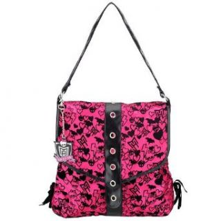 Monster High Hot Pink Tote Bag Purse Satchel Apparel Clothing