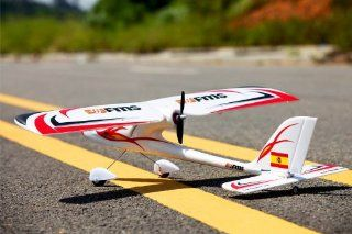 FMS 900mm Red Dragonfly RC Airplane Ready to Fly   Durable EPO Foam Toys & Games