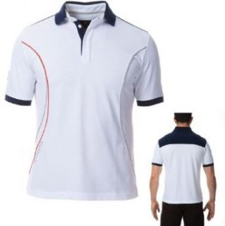 Beretta Men's Pro Polo Shirt, White, Large MT2571020140L at  Men�s Clothing store