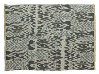 Reversible 100% Wool 8'X10' Ikat Design Hand Woven Soumak Flat Weave Rug Sh6066   Hand Knotted Rugs