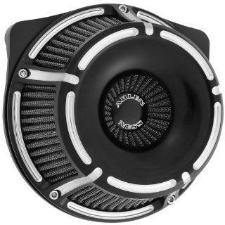 Arlen Ness Inverted Series Air Cleaner Kit   Slot Track   Black 18 923 Automotive