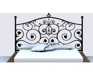 Square Flower Plant Headboard Wall Decal Bed Room Home Wall Stcker Decals Decor Bedroom Room Vinyl Romoveralble 902