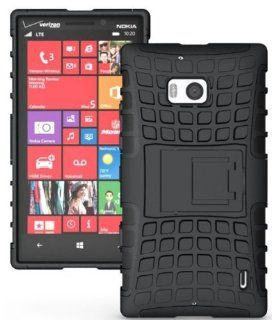 Minisuit Rugged Hybrid Kickstand Case for Nokia Lumia 929 (Icon, for Verizon) Cell Phones & Accessories