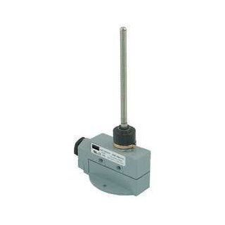 Dayton 12T929 Enclosed Limit Switch, SPDT, Vert, Wobble Motion Actuated Switches