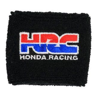 HRC Honda Racing Black Clutch Reservoir Sock Cover Fits CBR, 600, 1000, 600RR, 1000RR, 954, 929, RC51 Automotive