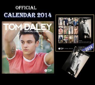 TOM DALEY OFFICIAL CALENDAR 2014 + TOM DALEY FRIDGE MAGNET  Wall Calendars