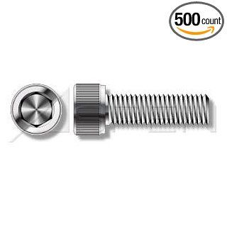 (500pcs per box) Metric DIN 912 M4 0.7 X 6 Hex Socket Cap Screws Stainless Steel A2 Ships FREE in USA