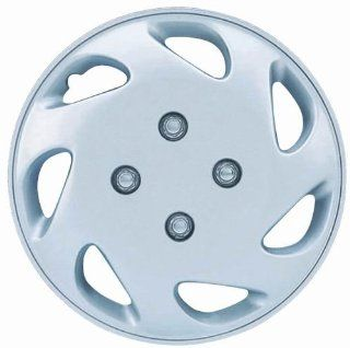 "Drive Accessories KT 848 13S/L, Honda Civic, 13"" Silver Replica Wheel Cover, (Set of 4) Automotive"