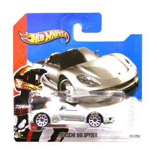 Hotwheels Diecast Car Hot Wheels   Porsche 918 Spyder (HW Showroom 2013) Toys & Games