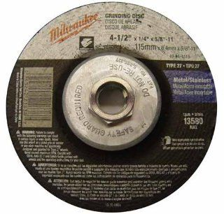 Milwaukee 49 94 4515 4 1/2 in Type 27 Grinding Wheel