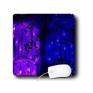 mp_36879_1 Yves Creations Christmas Decorations   Purple and Blue Christmas Light Boxes   Mouse Pads  Desk Christmas Decorations