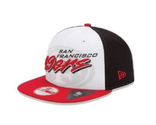 NFL San Francisco 49ers NE Gamer 950 Snapback Cap  Sports Fan Baseball Caps  Clothing