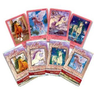 Bella Sara Cards   Series 4 (Ancient Lights)   Trading Card Packs ( 5 pack lot ) Toys & Games